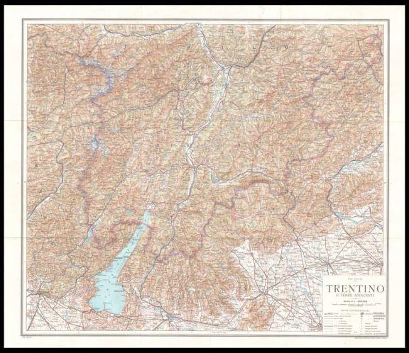 Trentino e terre adiacenti  / [a cura di] Pio Galli