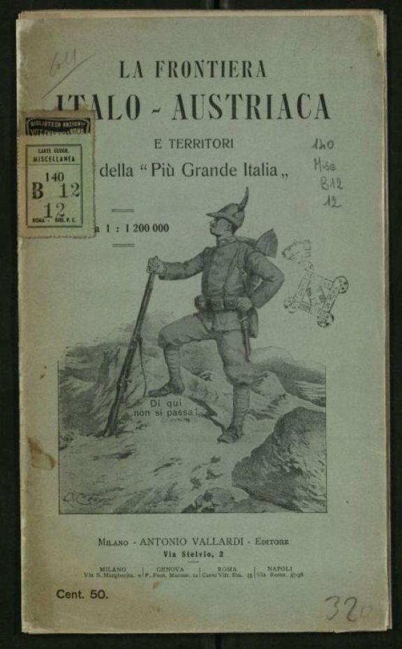Frontiera italo-austriaca e territori della Pi
