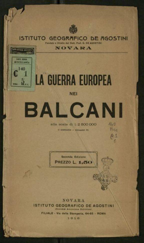 La *guerra europea nei Balcani