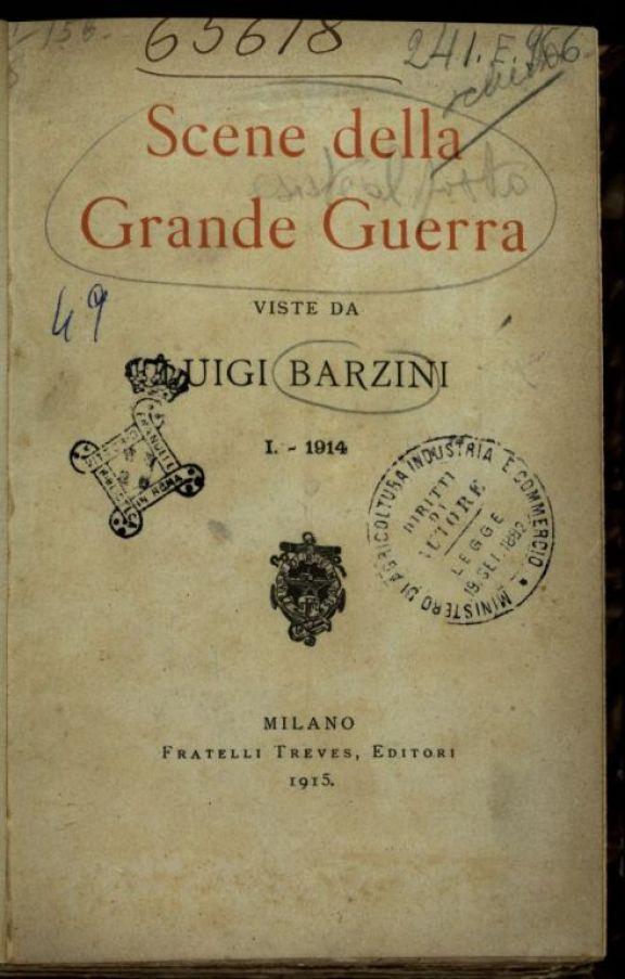 1: 1914  / Luigi Barzini