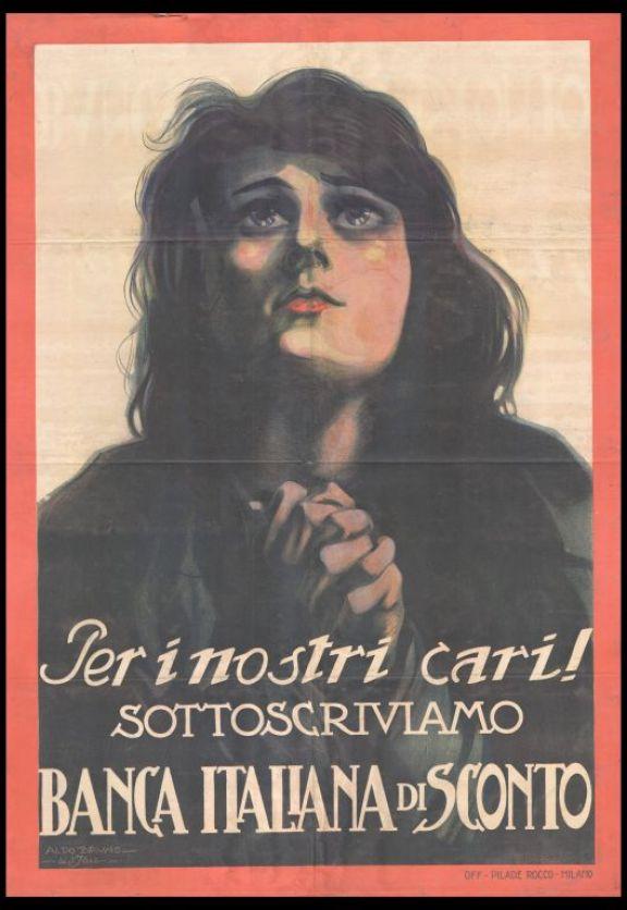 Per i nostri cari. Sottoscriviamo Banca Italiana di Sconto