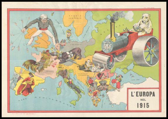 L'*Europa nel 1915