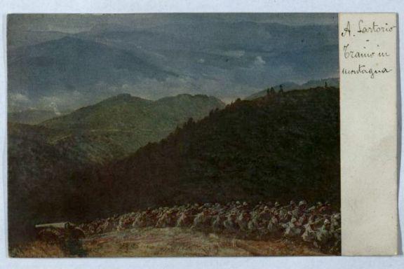 Traino in montagna