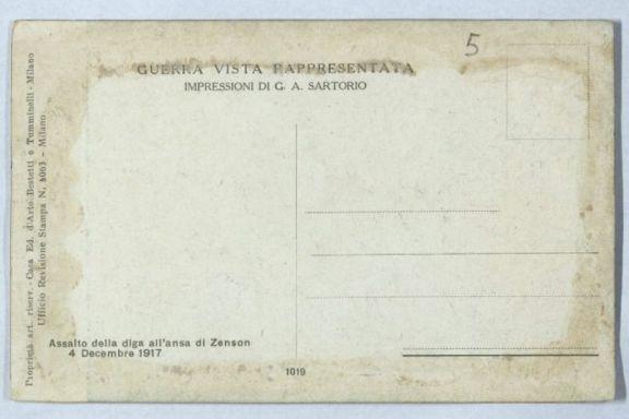Assalto della diga all'ansa di Zenson, 4 dicembre 1917