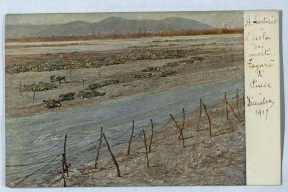 L'isola dei morti-Fagare di Piave Decembre 1917