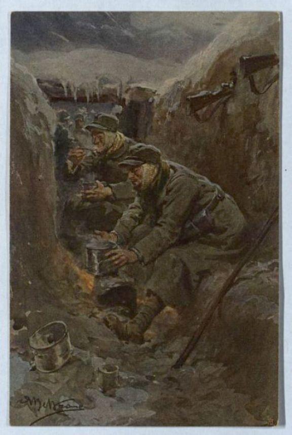 Il rancio dei soldati