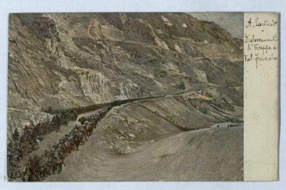 Dislocamenti di truppe a Val Frenzela