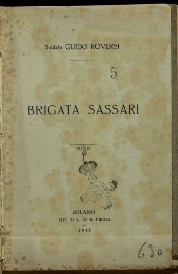 Brigata Sassari  / Guido Roversi