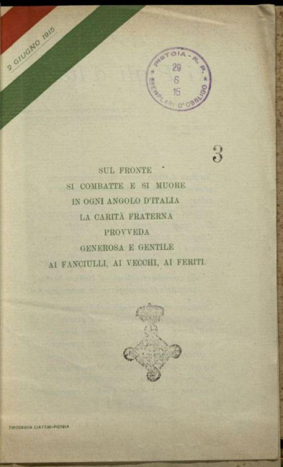 Ai figli d'Italia  / Alberta Macci