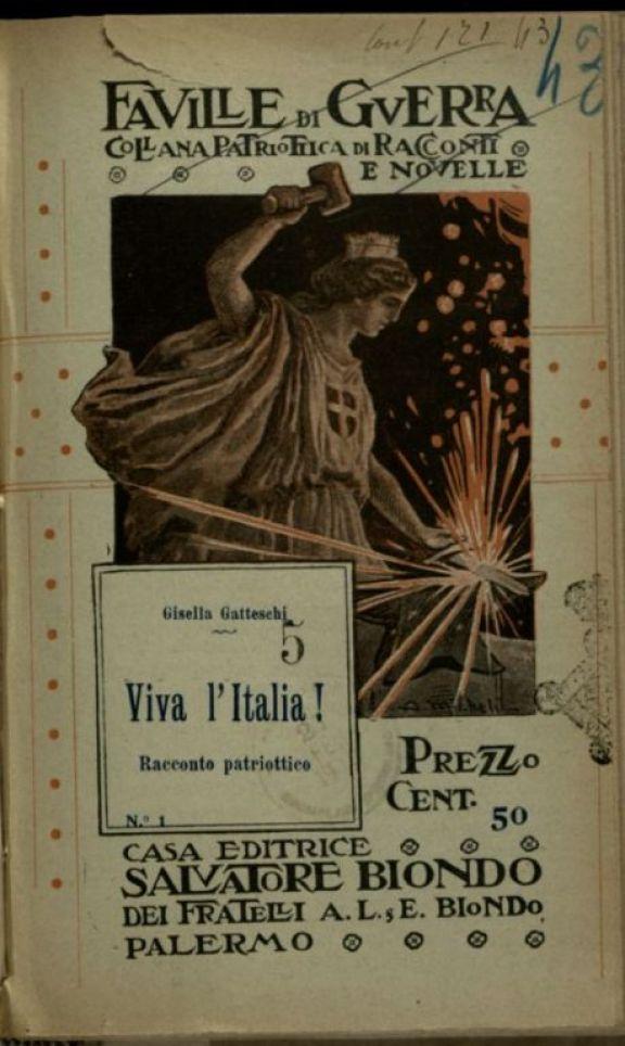 Viva l'Italia  : racconto patriottico  / Gisella Gatteschi