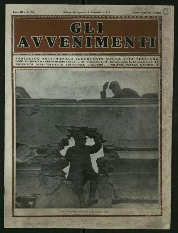 Gli *avvenimenti  : periodico settimanale illustrato della vita italiana