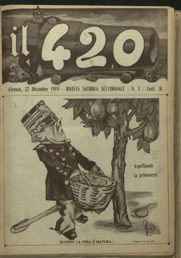 Il *420  : rivista satirica, settimanale