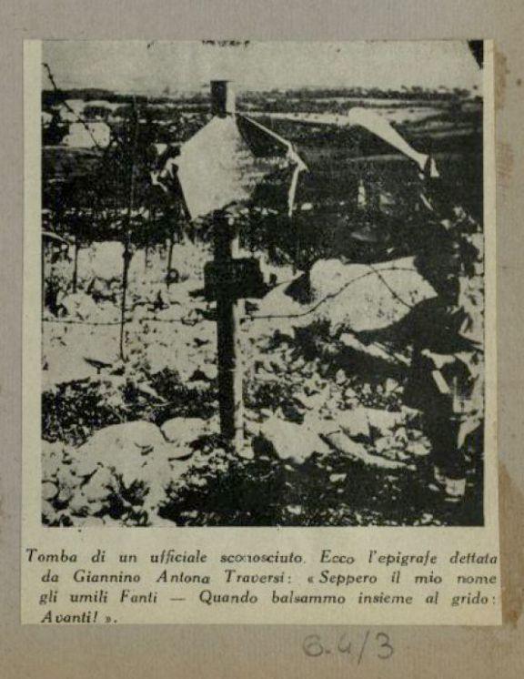 Tomba di un ufficiale sconosciuto