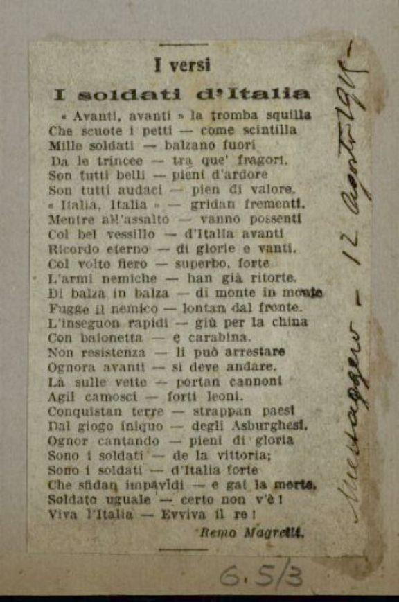 I soldati d'Italia