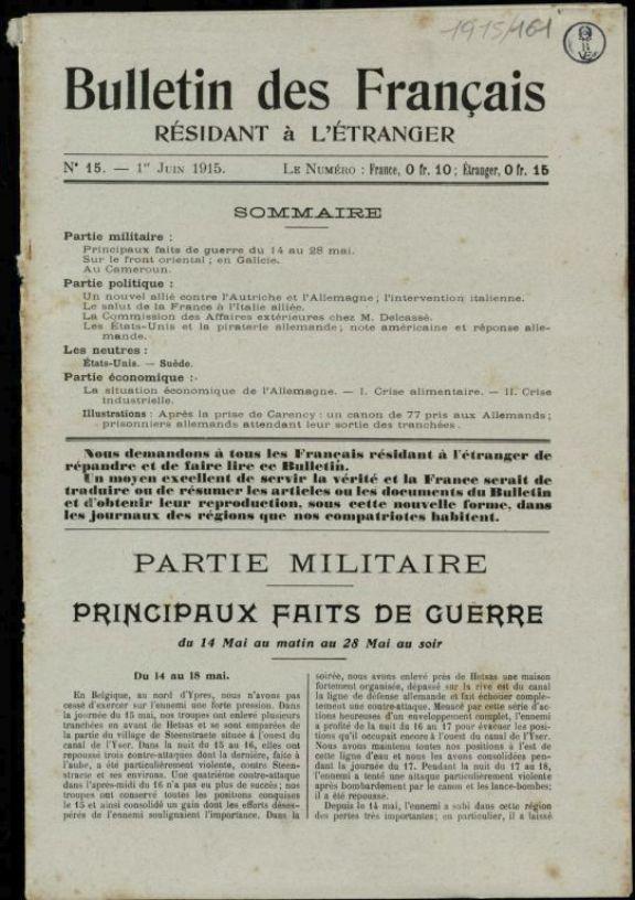 Bulletin des fran