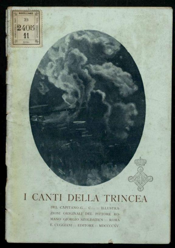 Canti tricolori  / Liana (Emilia Ascoli)  ; con prefazione di Francesco Ruffini