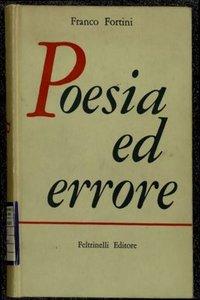 Poesia ed errore