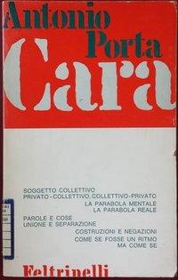 Cara: poesie 1965-1968