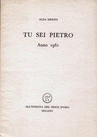 Tu sei Pietro: anno 1961