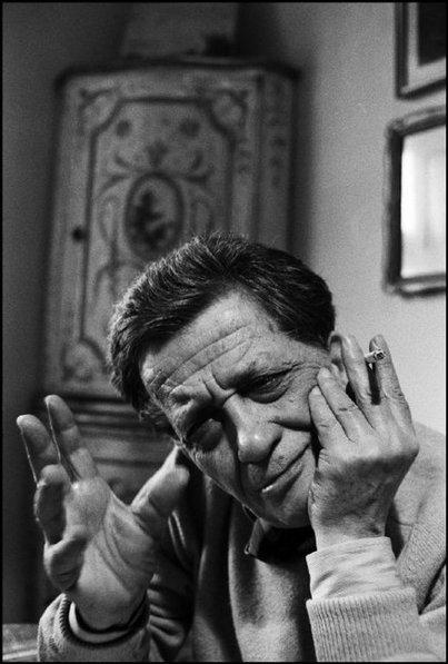 Stefano D'Arrigo - foto di Ferdinando Scianna (Magnum Photos)