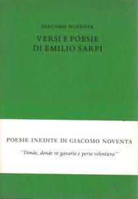 Versi e poesie di Emilio Sarpi