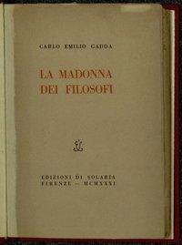 La Madonna dei filosofi