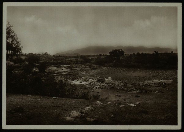 A. Baratti, Asmara, Antico bacino axumita