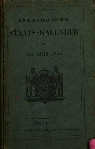 Preussischer (K.) Staats Kalender