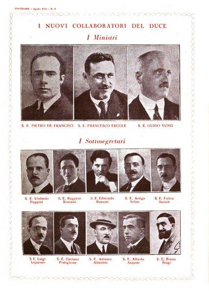 Costruire rivista mensile fascista