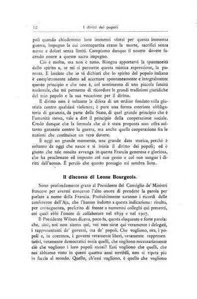 I diritti dei popoli rivista trimestrale per l'organizzazione giuridica della società internazionale