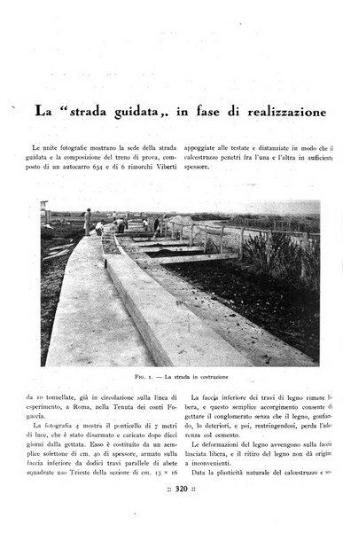 L'industria italiana del cemento rivista della Società incremento applicazioni cemento