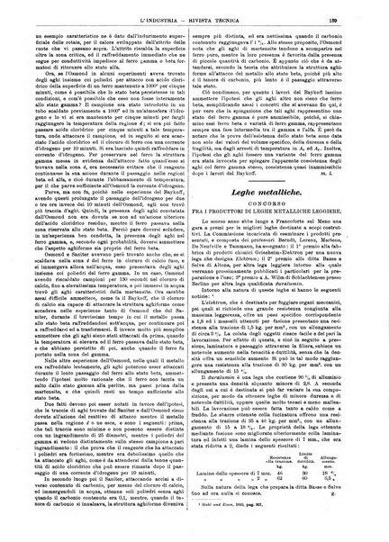 L'industria rivista tecnica ed economica illustrata