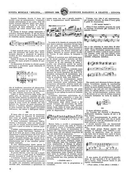 Melodia grande rivista musicale
