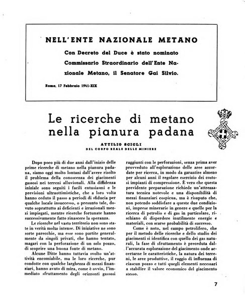Il metano bollettino mensile di studi e d'informazioni edito