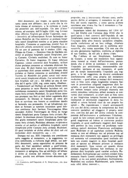 L'Ospedale Maggiore rivista scientifico-pratica dell'Ospedale Maggiore di Milano ed Istituti sanitari annessi