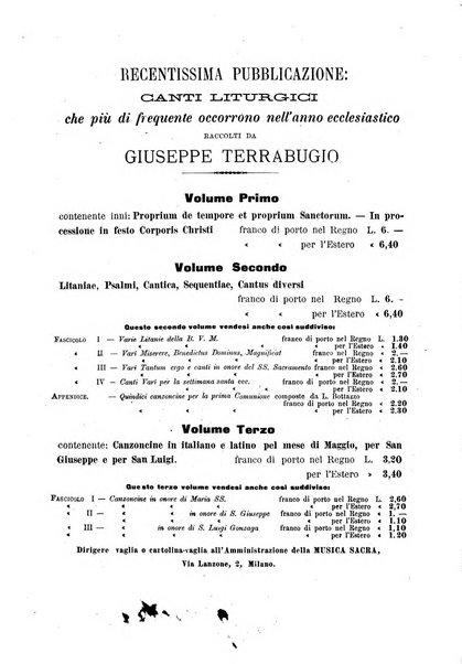 Musica sacra repertorio economico