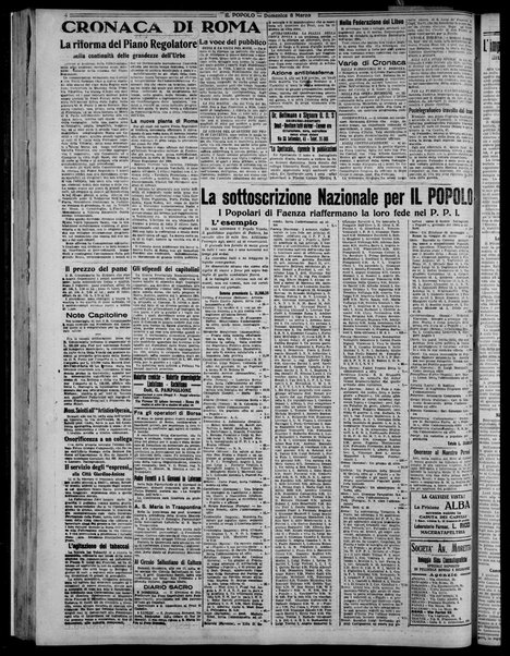 Il popolo : giornale del mattino