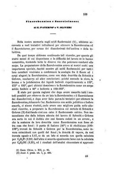 Gazzetta chimica italiana