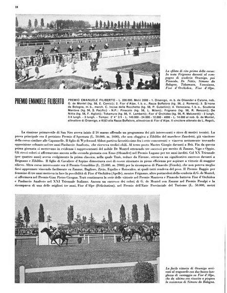 Le grandi prove ippiche annuario internazionale di sport ippico