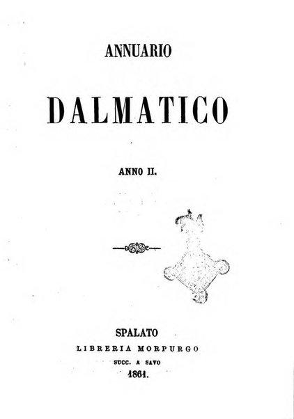 Annuario dalmatico