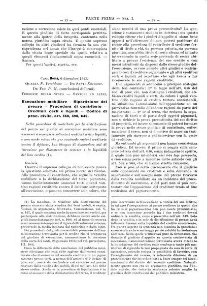 Giurisprudenza italiana e La legge riunite raccolta generale di giurisprudenza, dottrina e legislazione