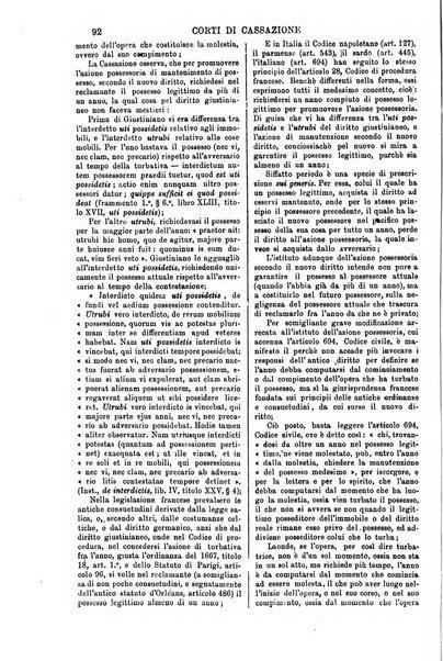 Annali della giurisprudenza italiana raccolta generale delle decisioni delle Corti di cassazione e d'appello in materia civile, criminale, commerciale, di diritto pubblico e amministrativo, e di procedura civile e penale