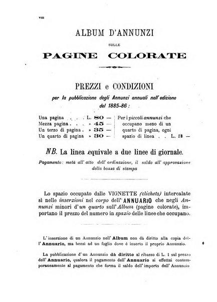 Annuario Lossa almanacco di commercio delle citta di Genova, Milano e Torino e principali provincie lombarde