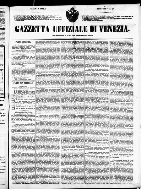 Gazzetta ufficiale di Venezia