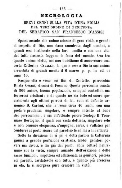 Letture francescane periodico mensile religioso dedicato ai figli terziarii di san Francesco d'Assisi