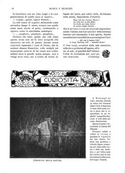 Musica e musicisti rivista illustrata bimestrale
