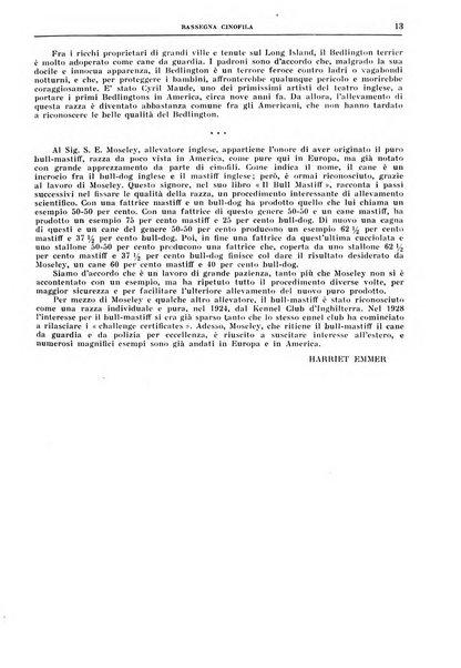Rassegna cinofila organo ufficiale dell'Ente nazionale della cinofilia italiana