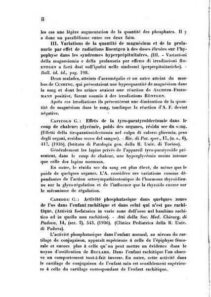 Revue des archives italiennes de biologie
