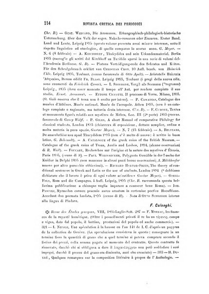 Rivista di storia antica e scienze affini