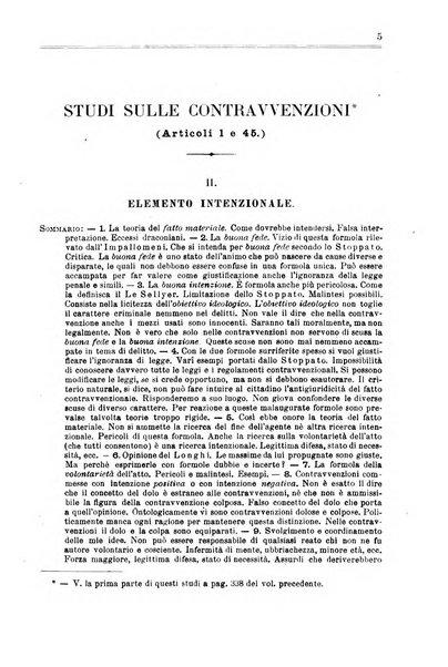 Studi illustrativi del codice penale italiano